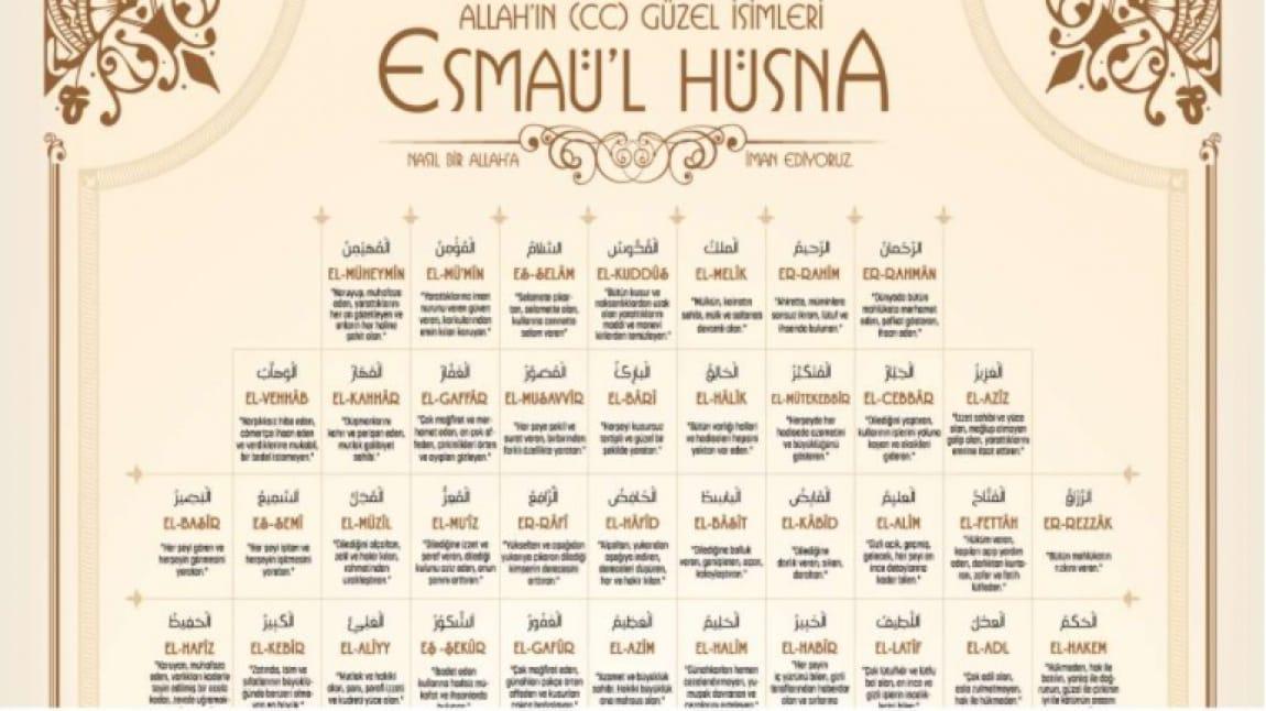 ESMA'UL-HUSNA